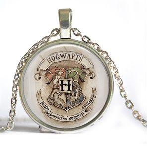 Jewelry - Harry Potter Hogwarts Vintage House Crest Pendant